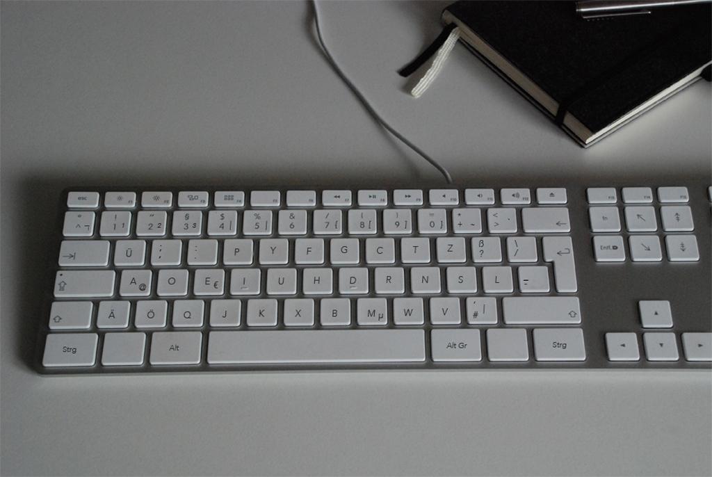 Dvorak Tastaturlayout QWERTY typingninja